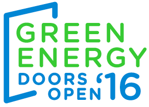 Green Energy Doors Open Logo