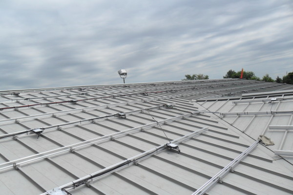 Installing a solar pv system at 5279 Ament Line