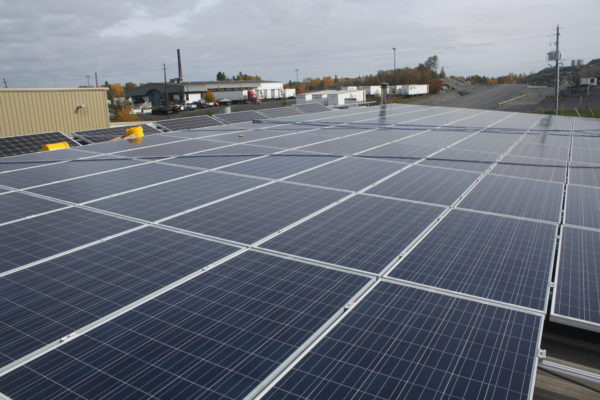Roof top fixed solar system