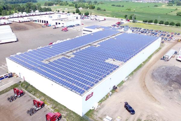 Erb Transport Solar Overhead
